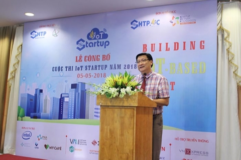 "Cuộc thi IOT Startup 2018 ""Building iot-based smart city"""