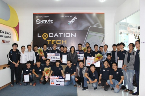 Cuộc thi Location Tech Hackathon 2018